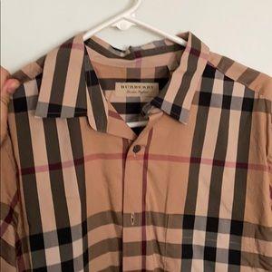 Original Burberry button down shirt